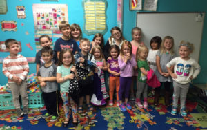 First Grade at Timothy Lutheran School in Blue Springs, MO